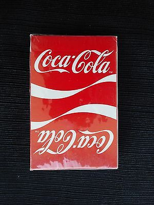 """Coca Cola """"RIBBON DESIGN"""" Sealed Deck Playing Cards"""