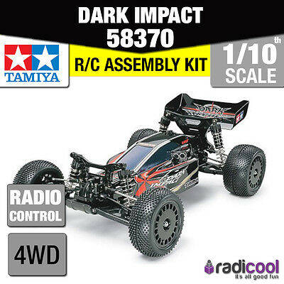 58370 TAMIYA DARK IMPACT 4WD RACING BUGGY DF-03 1/10th R/C RADIO CONTROL