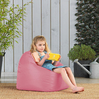 BEANBAG Tub Chair Beans Childrens Seat Kids Bean Bag Filled XL Armchair Style