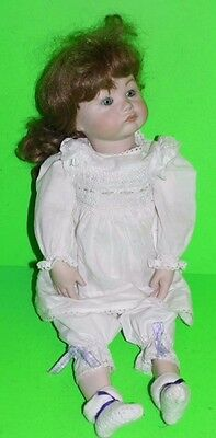 "Antique Repro  Doll  22"" Porcelain Doll, SFB 252 Paris MARKED ON THE HEAD"