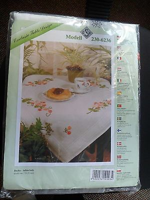 Tablecloth Embroidery Kit 80 X 80 32X32 In