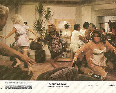 1984 BACHELOR PARTY Movie by Neal ISRAEL Chaos at the party *Foto seriale 25x20