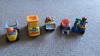 Fisher Price Little People Construction Vehicle Set