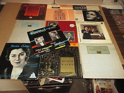 Classical [LP] Bulk Lot #1 (Various Artists) Free Shipping