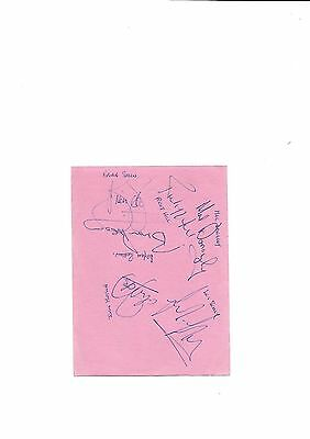 Manchester United - Les Sealey On Autograph Page   (Hand Signed)