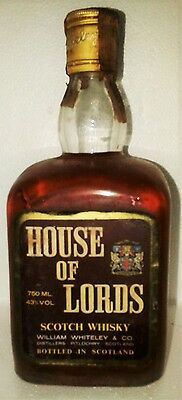 Very Old Scotch Whisky House Of Lords Yo Cl 75 43°