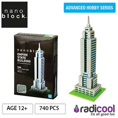NBM004 Nanoblock Empire State Building Deluxe [Advanced Hobby Series] 740pcs Age