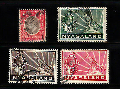 A very nice old BCA & Nyasaland group