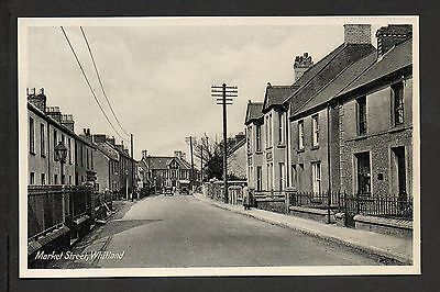 Whitland - Market Street - printed photographic postcard