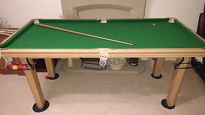 Riley snooker table. 6 foot.great condition