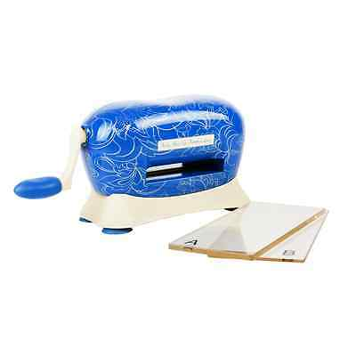 BABY BLUE  DIE-CUTTING MACHINE by TATTERED LACE + free pokey tool