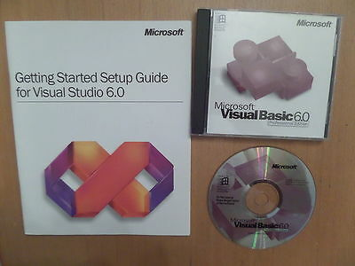 Microsoft Visual Basic 6.0 Professional Edition + 290 Page Guide