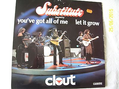 ' Clout ' -  ' Substitute '  - 1St Press - Collectable