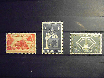 Luxembourg stamp serie 1956, unused MH