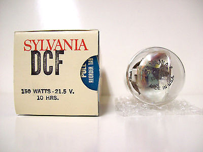 DCF Projector Projection Lamp Bulb  150W 21.5V Sylvania Brand