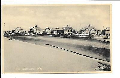 Old postcard, Lancs: 'The Promenade, Bare'. Posted 1933.