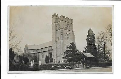Old postcard, Lancs: 'Natland Church'. Posted 1913. 'Real photo'.