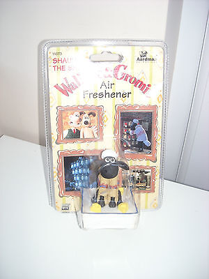 Wallace & Gromit Collectable Air Freshener 1996  Shaun The Sheep