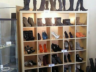 Wholesale womens ladies shoes boots joblot brand new -approx 700 pairs bargain