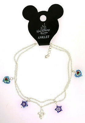 AUTHENTIC DISNEY WORLD  MICKEY MOUSE HEAD ANKLET ANKLE BRACELET  adjustable