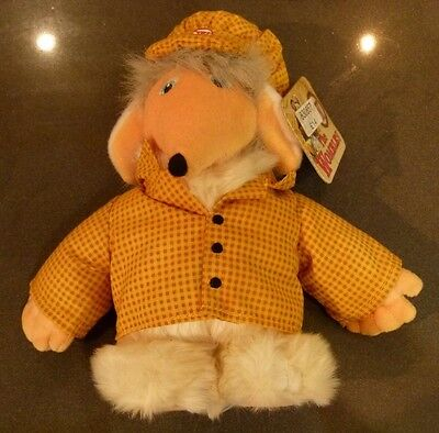 Posh Paws THE WOMBLES 'Bungo' Collectible Soft Toy w/ Tag [BNWT]
