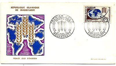 Mauritania 1963 Freedom from Hunger first day cover