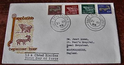 Ireland Definitive Issue 1969 First Day Cover