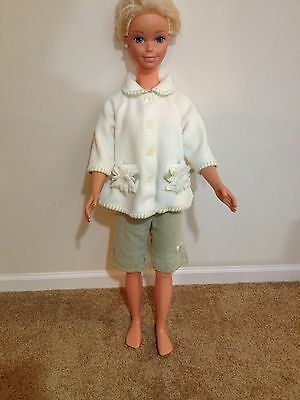 My Size Barbie 2-Piece Mint Green And White Outfit