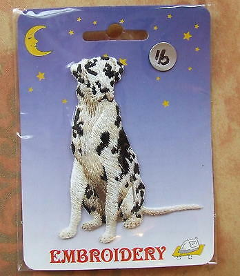 DOG Embroidery Iron On Patch - Harlequin Great Dane  Dog