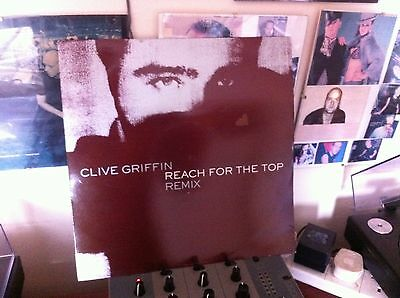 """Clive Griffin - Reach For The Top Remix 12"""" Vinyl"""