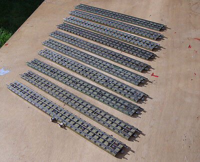 Vintage Hornby Dublo 3 Rail Edb1 Straight Track In Good Clean Condition Ten Off