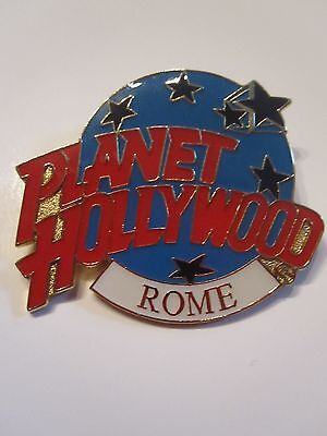 PLANET HOLLYWOOD ROME ITALY pin