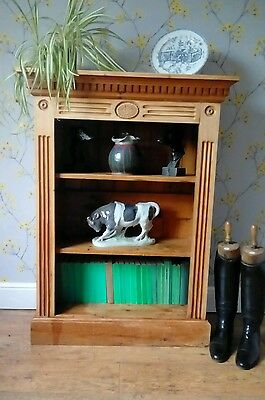 Vintage Reclaimed Pine (Poss Church Pew) Bookcase Shelving For Refurb