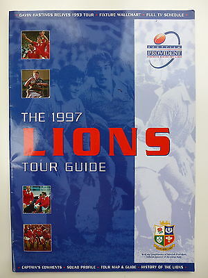 British Lions To South Africa 1997 Scottish Provident Tour Guide *v Rare*