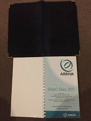 Arriva Bus Drivers Diary And Leather Holder