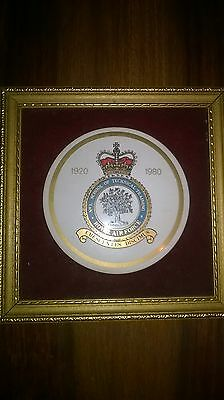 Royal Air Force  Halton  No. 1 school of technical training plaque 60 years