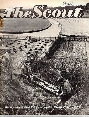 2 FEBRUARY 1963 Vintage Magazine The Scout 48622