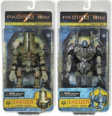 """PACIFIC RIM - 7"""" Series 3 Jaeger Action Figure Set (2) by NECA #NEW"""