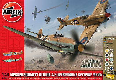 AIRFIX® A50014 Dogfight Doubles Bf109F-4 vs. Supermarine Spitfire Mk.Vb in 1:48