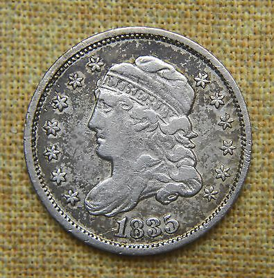 1835 Capped Bust Half Dime - Very Fine