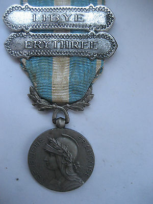 Foreign Legion /free French Forces Colonial Medal Libya/eritrea