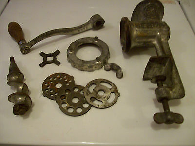 antique Griswold  meat grinder   100 years old