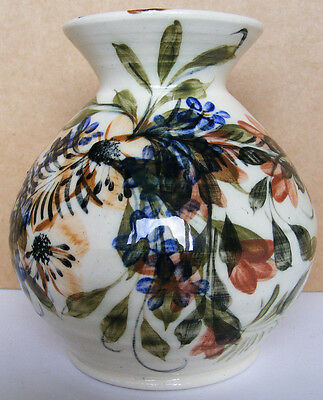 GWILI POTTERY - Beautiful Hand Painted Vase - Excellent Condition