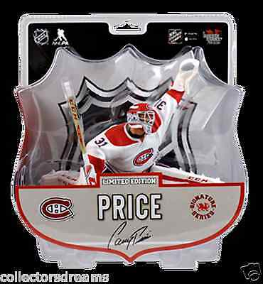 """2016-17 CAREY PRICE 6"""" Figure - Signature Series Very Limited IN STOCK"""
