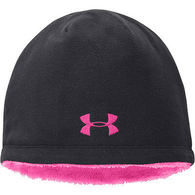 Girl's Under Armour Super Furry Beanie,  OSFA, New with Tags