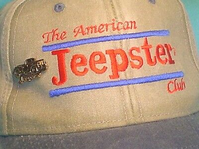 The American Jeepster Club Cap Hat