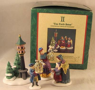 Dept 56 Dickens Village Two Turtle Doves Twelve Days of Christmas #2
