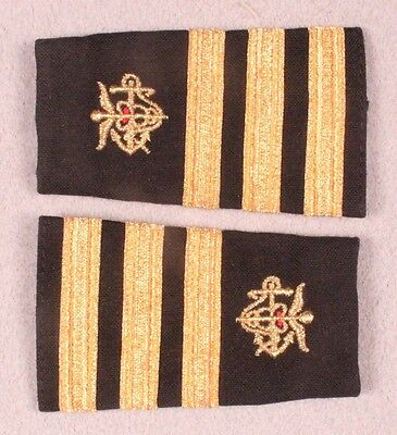 Public Health Service Slip-on Rank Epauletts - Commander (pair)