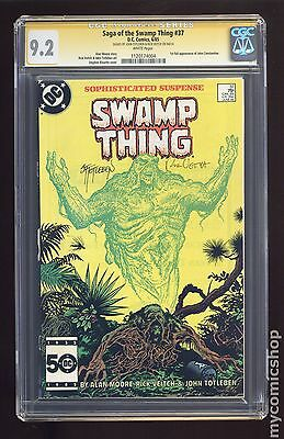 Swamp Thing (1982 2nd Series) #37 CGC 9.2 SS (1120174004)