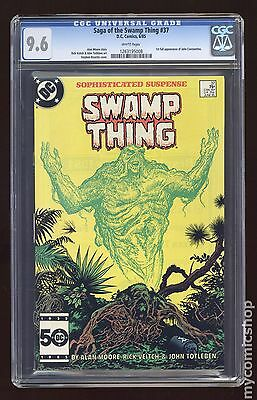 Swamp Thing (1982 2nd Series) #37 CGC 9.6 (1263195008)